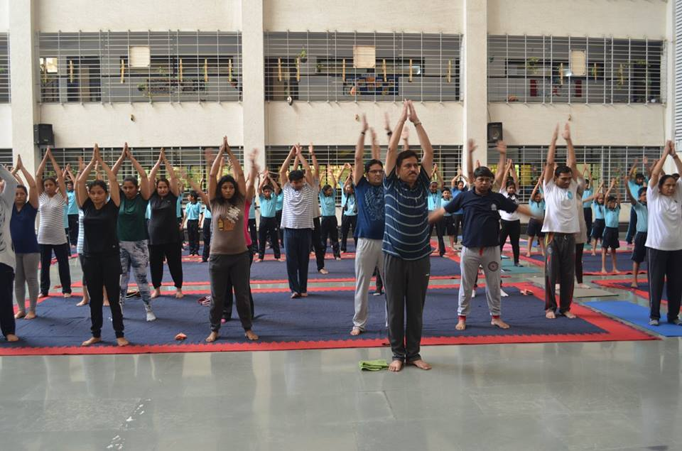 INTERNATIONAL YOGA DAY AT GGS!