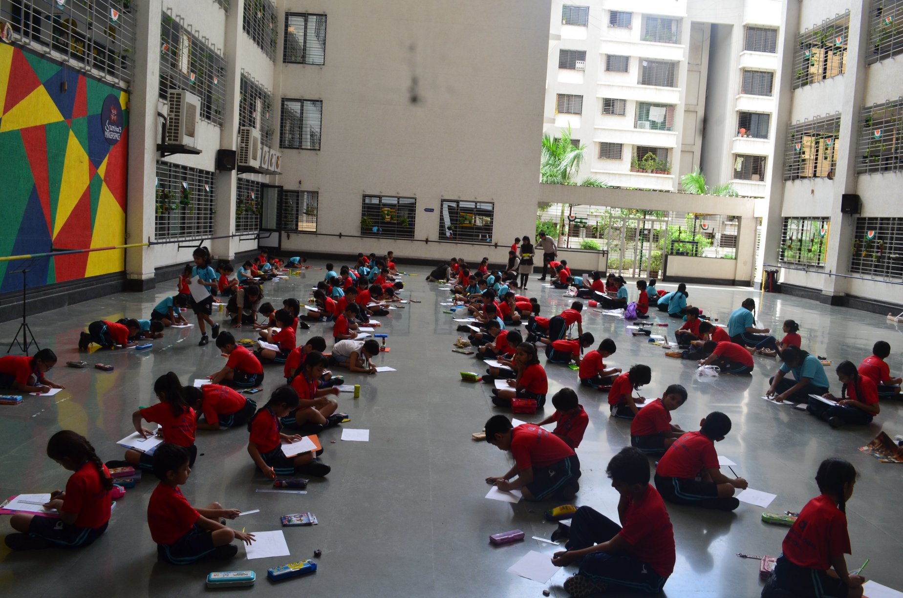 Camlin Drawing competition