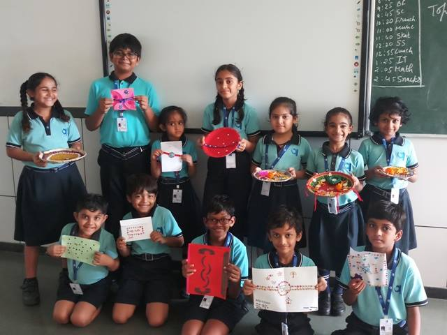 Rakhi/Thali/Card making competition