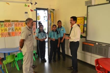 Guest visit at GGS