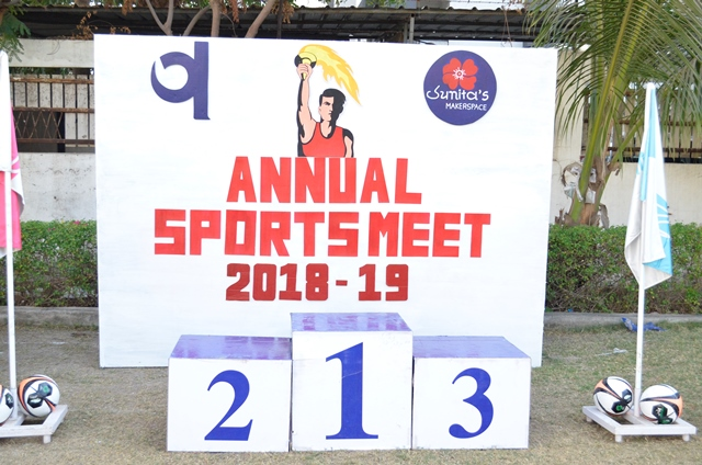 Annual Sports Meet Grade I to V