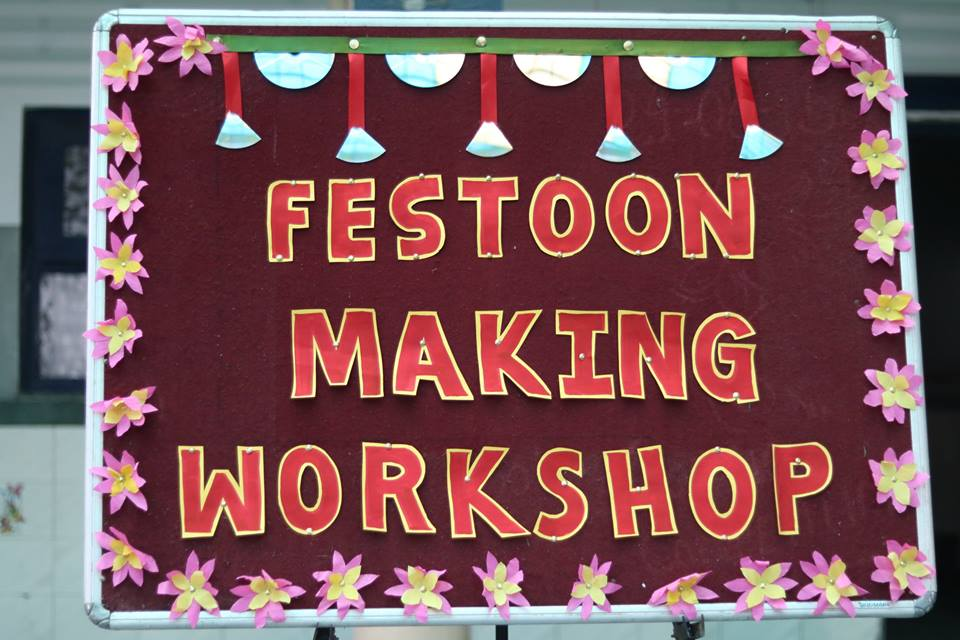 FESTOON MAKING WORKSHOP