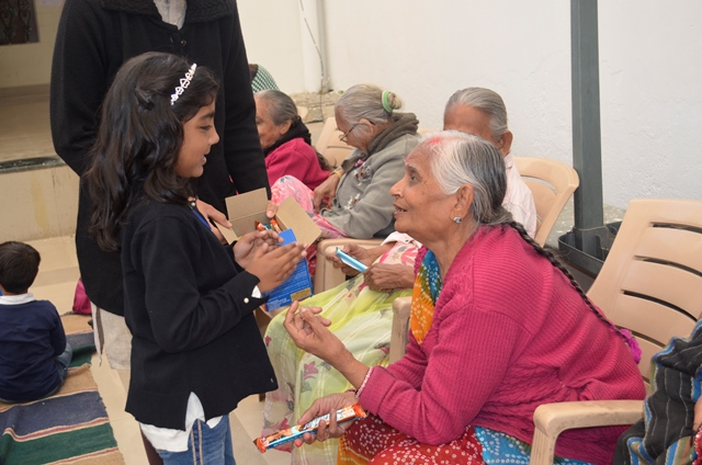 Field Trip @ Old Age Home