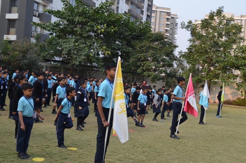 Practice during Sports Week