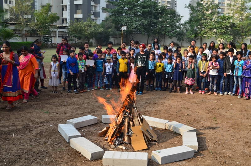 Uttarayana and Lohri Festive in GGS