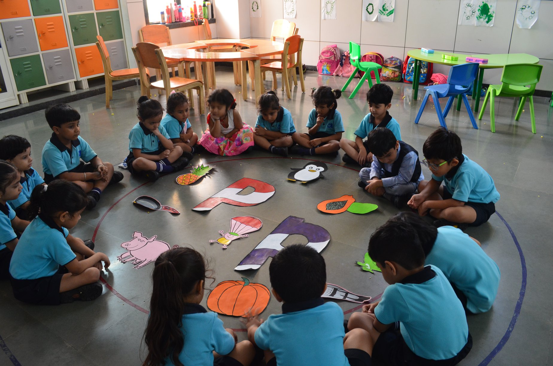 Pre-Primary Class  Activity