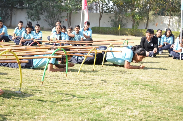 Annual Sports Meet Grade VI to X